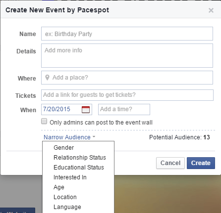 how to create event on facebook page, How to create an event on Facebook, how to promote an event on facebook