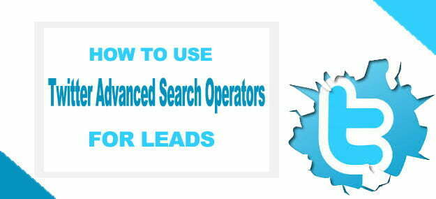 How to use twitter advanced search operators, Advanced twitter search filters, Advanced search twitter
